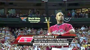 Albert Pujols at Home Run Derby