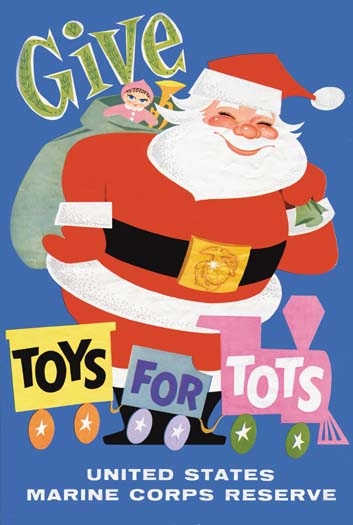 Toys 4 Tots Posters : Toys for tots drive at world wide collects over
